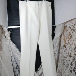 Trina Turk White Trousers